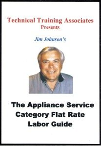 Appliance Category Flat Rate Guide Cover