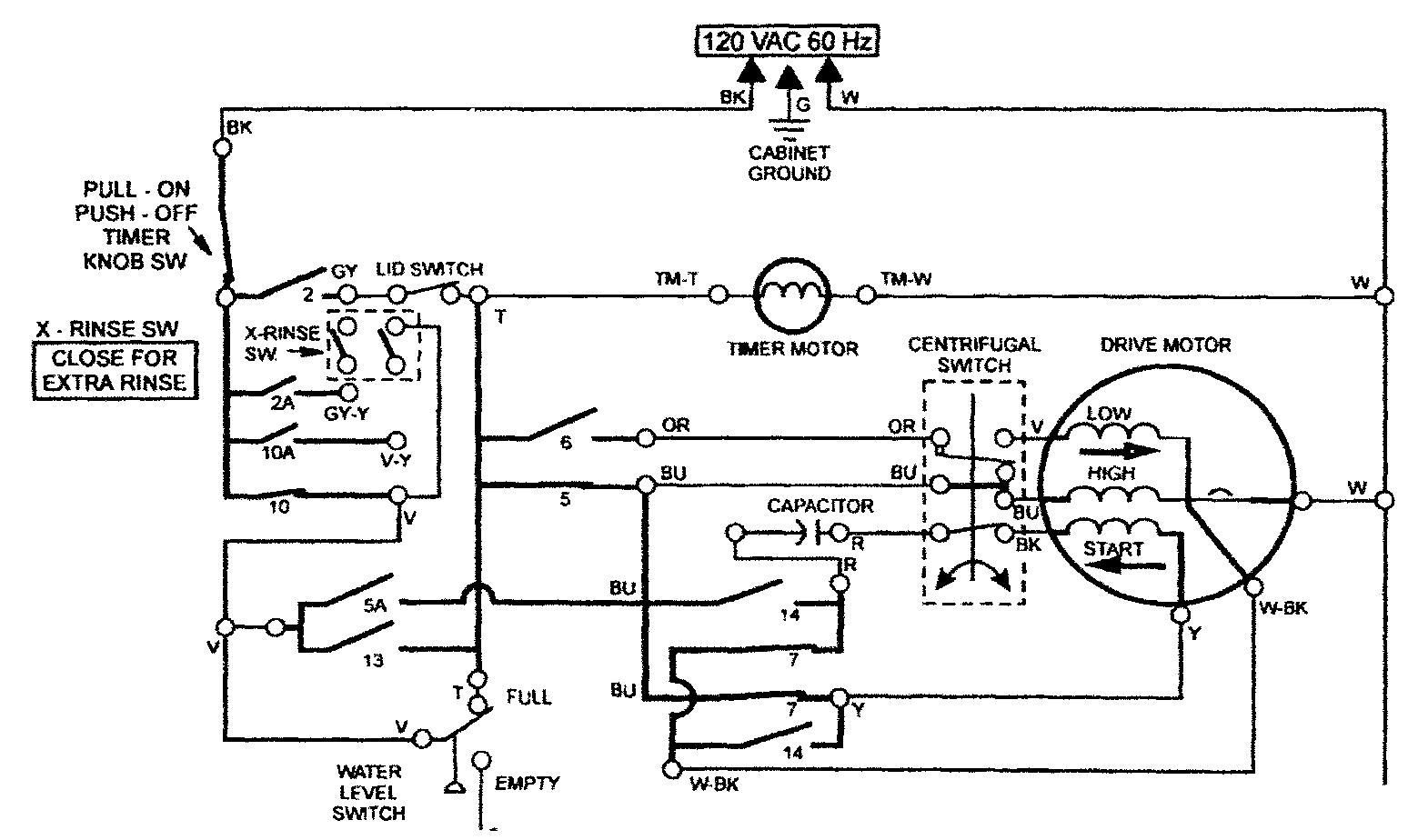 Appliance Course Module Five Figure 5 49 mat course module five sample page washing machine motor wiring diagram at soozxer.org